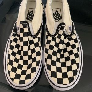 Vans Black N White Checkered low top